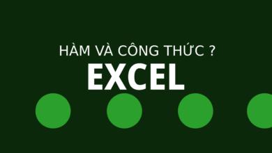 Photo of Khái niệm hàm và công thức trong Excel.
