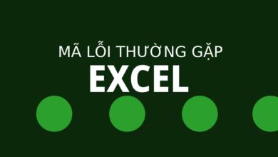 Photo of 6 mã lỗi Excel phổ biến thường gặp nhất.