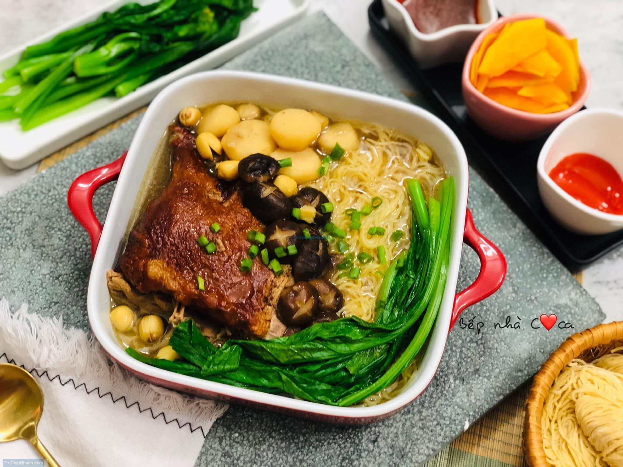 Photo of Cách nấu mì vịt tiềm thơm ngon chuẩn vị Trung Hoa