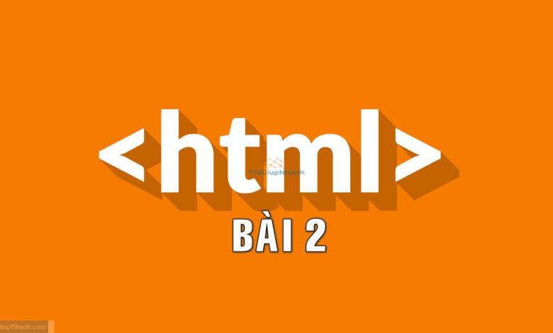 các thẻ cơ bản html