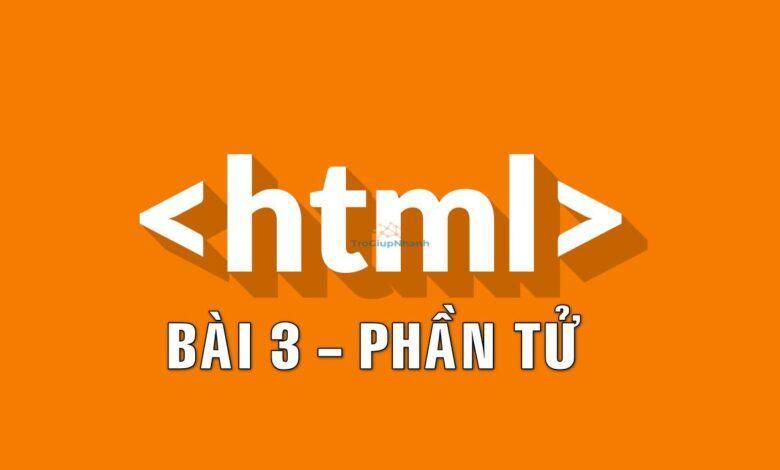 phần tử trong html