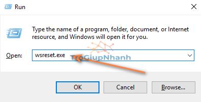 Xoá bộ nhớ đệm Windows Store