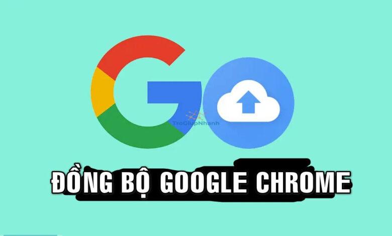 đồng bộ tài khoản google