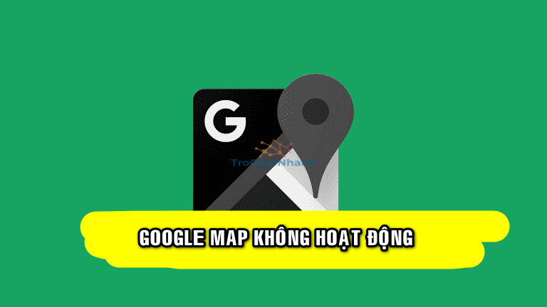 google map không điều hướng
