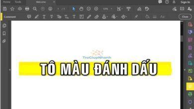 Photo of Cách tô màu đánh dấu văn bản trong Adobe Reader.