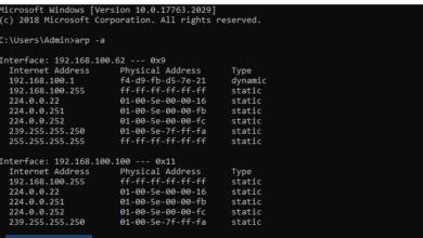 Photo of ARP là gì ? Cách xoá bộ nhớ đệm ARP trong Windows 10 / 11