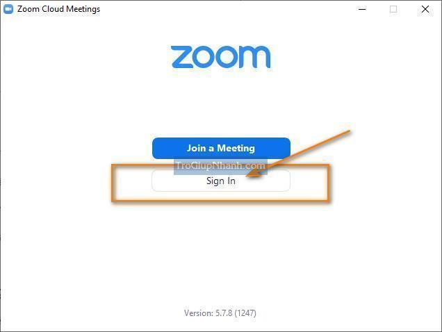 cách cài đặt zoom